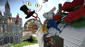 Minecraft и «Алиса в Стране чудес»