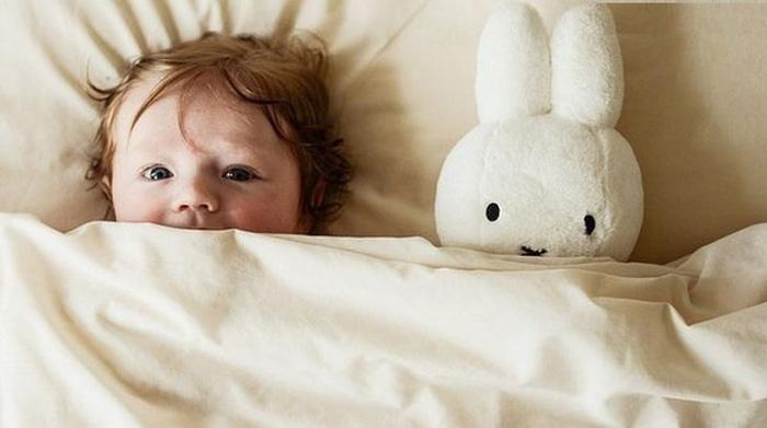 Кролик, который хочет заснуть