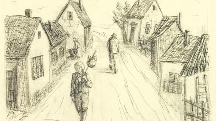 Иллюстрация «Приключения Оливера Твиста»