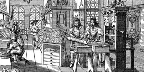 История зарождения книгопечатания