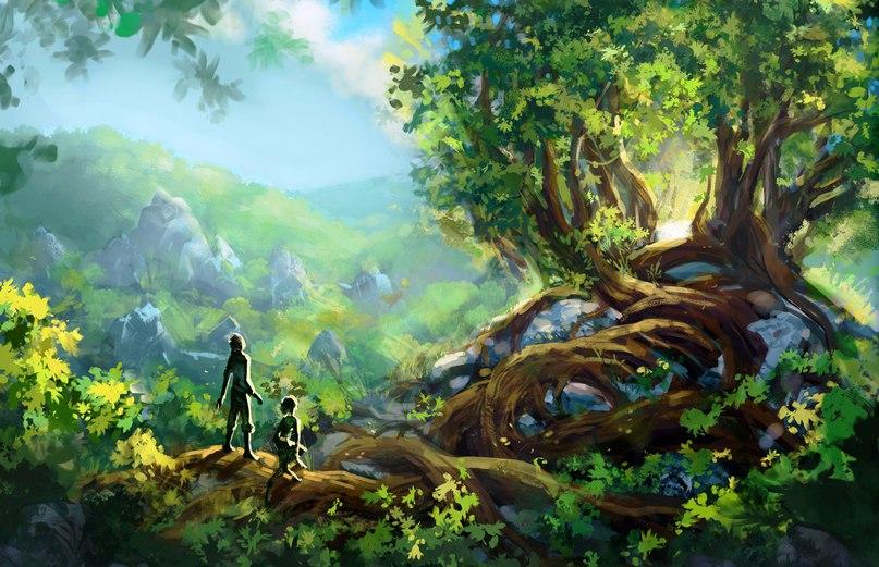 Из джунглей