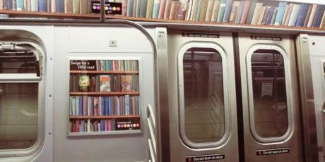 В Петербурге курсирует «Литературный поезд»