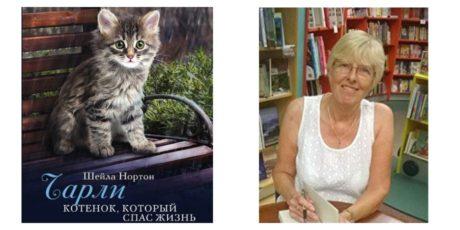«Чарли. Котенок, который спас жизнь» – трогательная и жизнеутверждающая книга от Шейлы Нортон