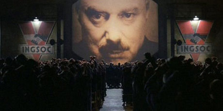 Фильм «1984» по роману-антиутопии  Джорджа Оруэлла
