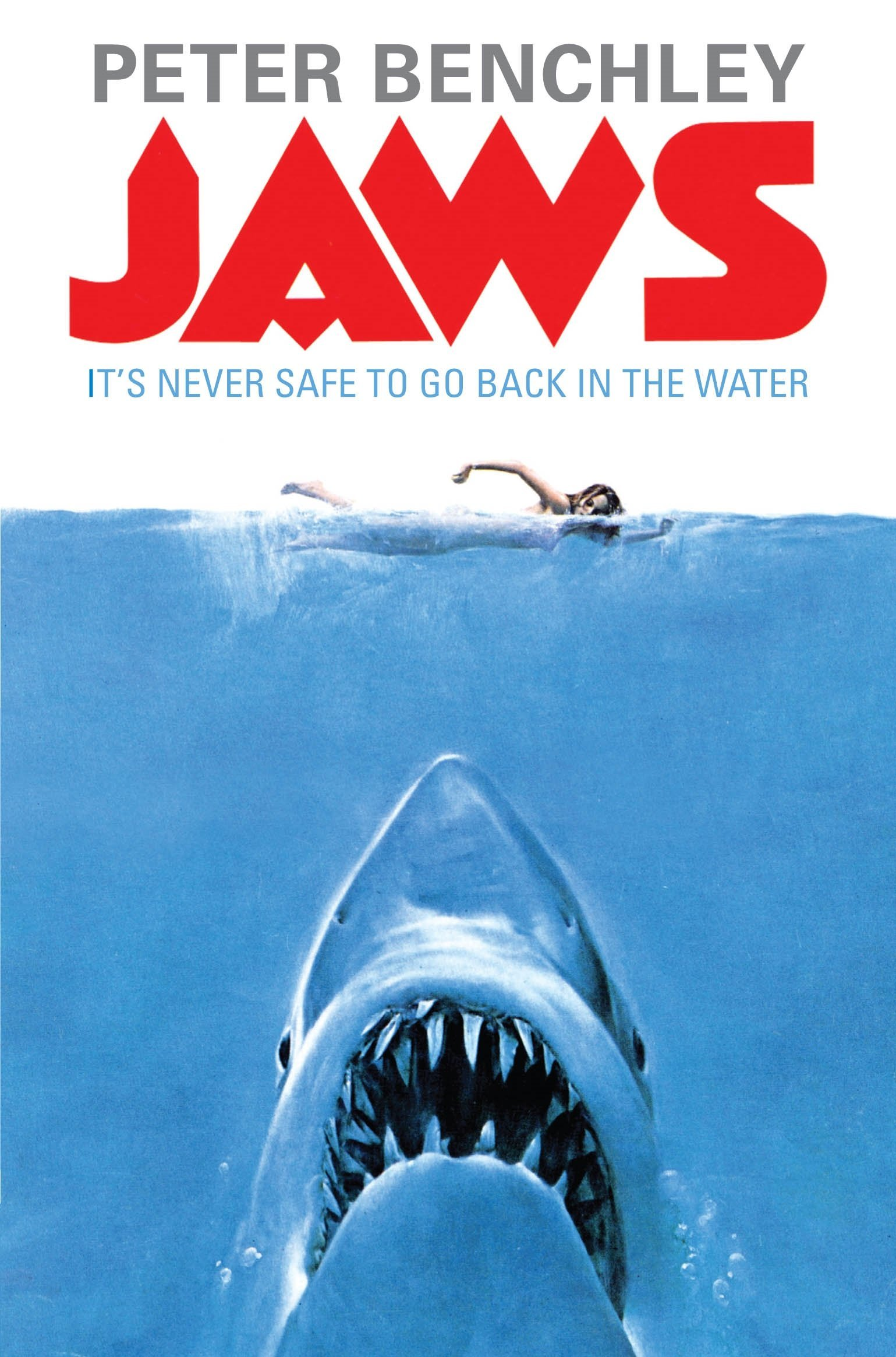the positive and negative aspects of peter benchleys novel jaws
